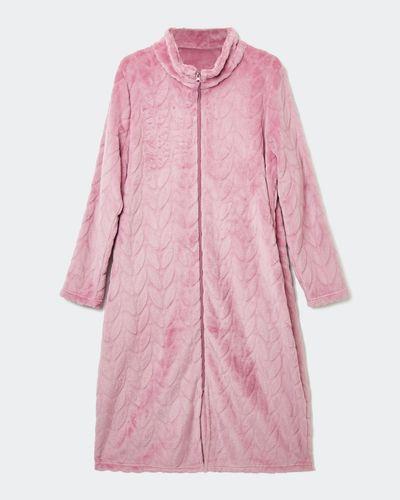 Long Petal Zip Bed Jacket