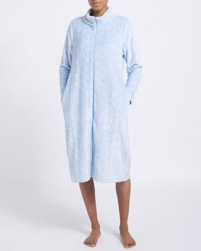 Long Zip Bed Jacket
