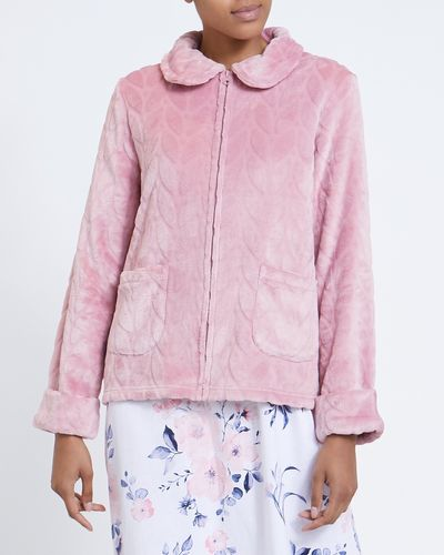 Petal Zip Bed Jacket