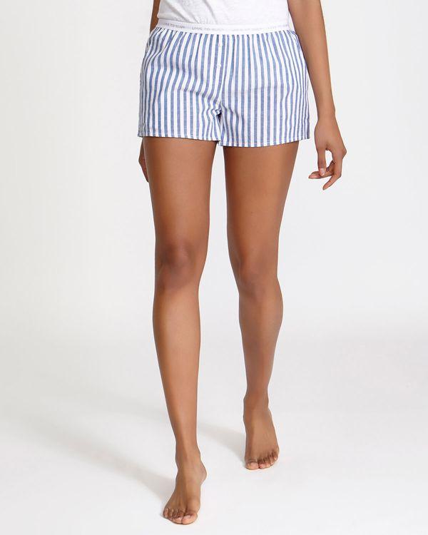 Blue Woven Short