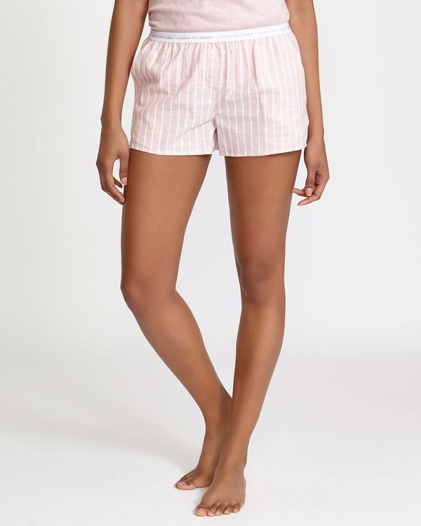 Pink Woven Pyjama Shorts