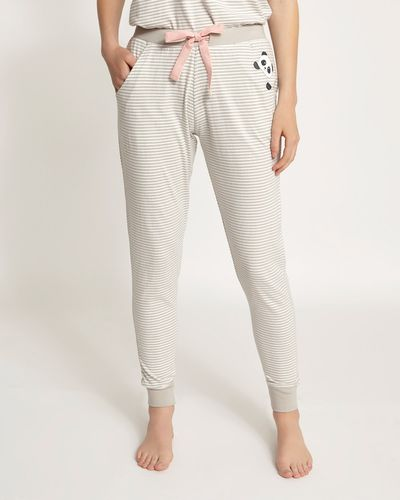 Panda Stripe Pyjama Pants