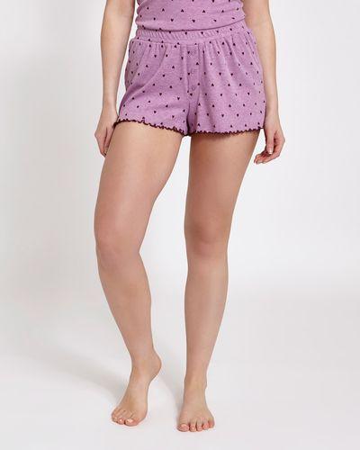 Pink Marl Shorts