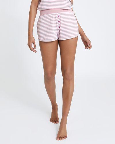 Cat Stripe Shorts