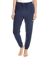 denim Jog Pants With Cuffs