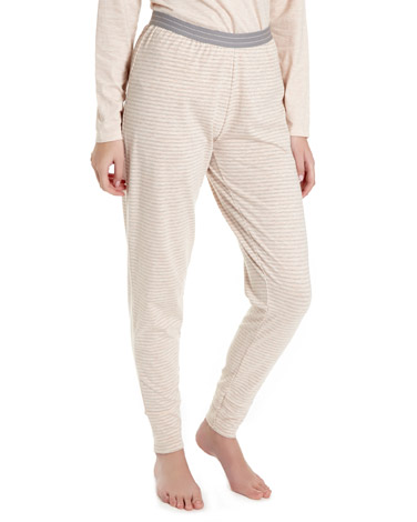 stripe Cuffed Stripe Pyjama Pants