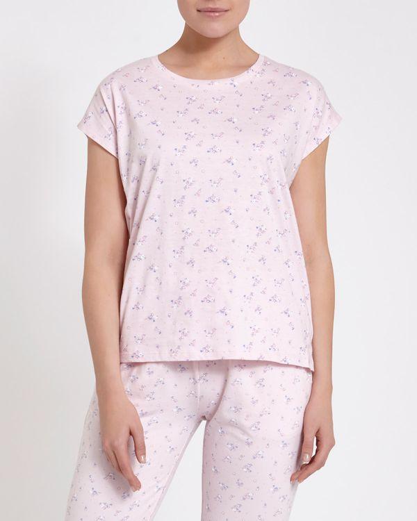 Ditsy Pyjama Top