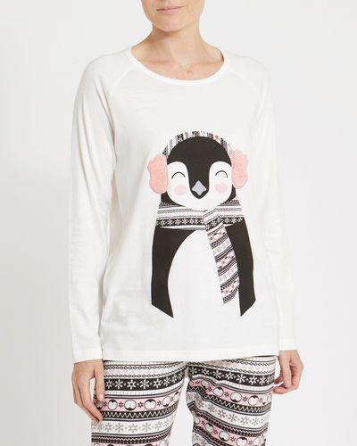 Christmas Penguin Top