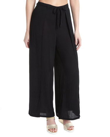 blackPalazzo Trousers