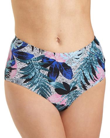 printMauritius High Waisted Bikini Bottoms
