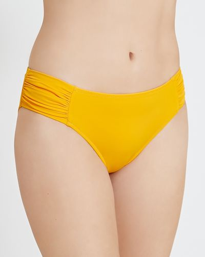 Ruched Bikini Briefs