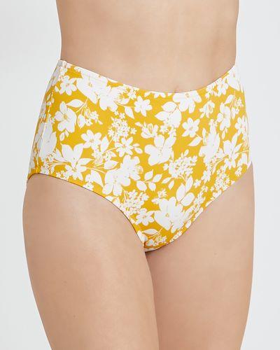 Ditsy High Waist Bikini Bottoms