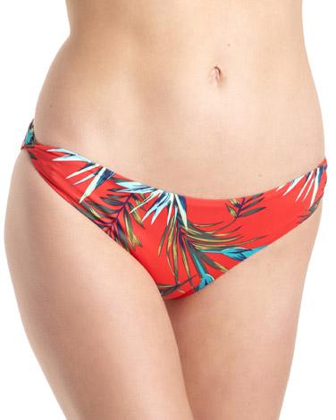 redTahiti High Leg Bikini Bottoms