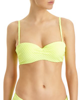 lime Textured Bandeau
