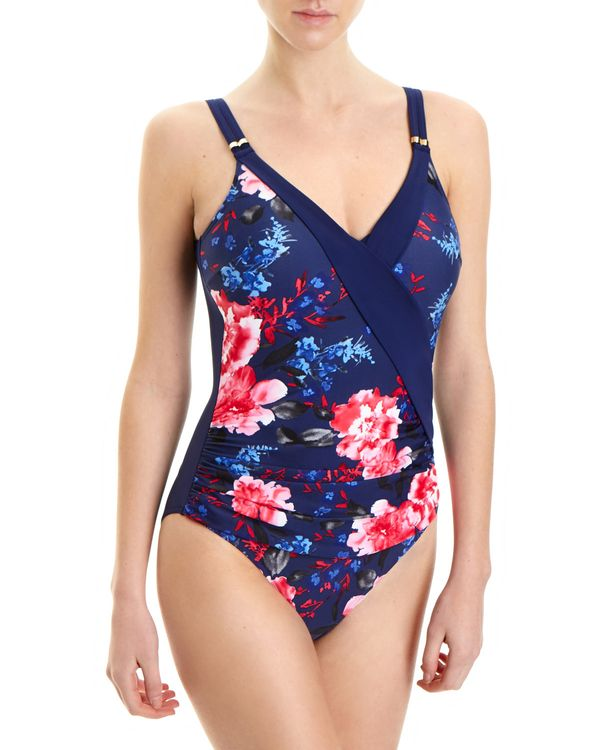 Tropical V-Front Swimsuit