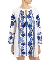 white Marrakesh Kaftan