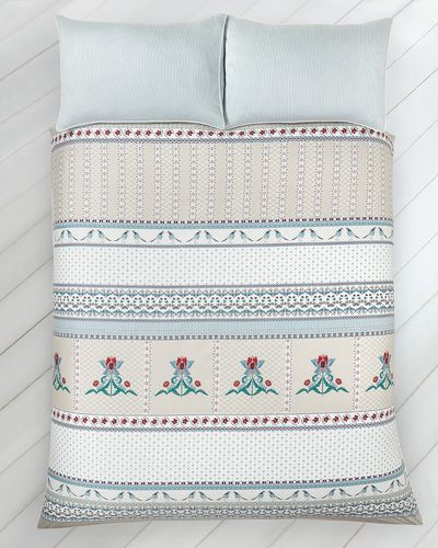 Carolyn Donnelly Eclectic Laurel Panel Print Duvet Set