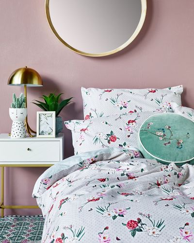 Carolyn Donnelly Eclectic Botanical Duvet Set