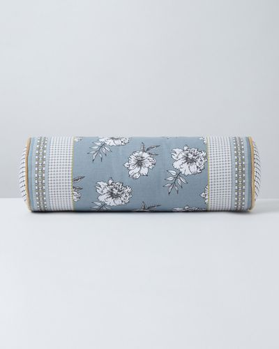 Carolyn Donnelly Eclectic Arona Printed Cotton Bolster Cushion
