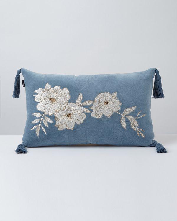 Carolyn Donnelly Eclectic Arona Tassle Boudoir Cushion
