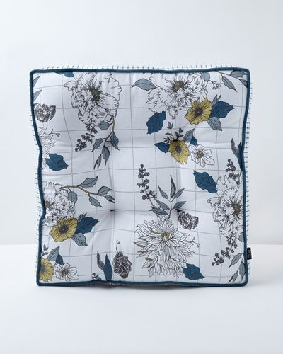 Carolyn Donnelly Eclectic Arona Printed Cotton Box Seat Pad