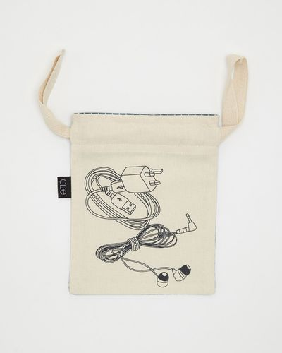 Printed Drawstring Storage Bag