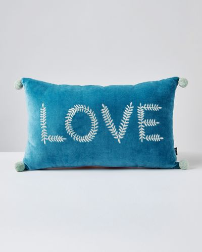 Carolyn Donnelly Eclectic Love Rectangular Cushion