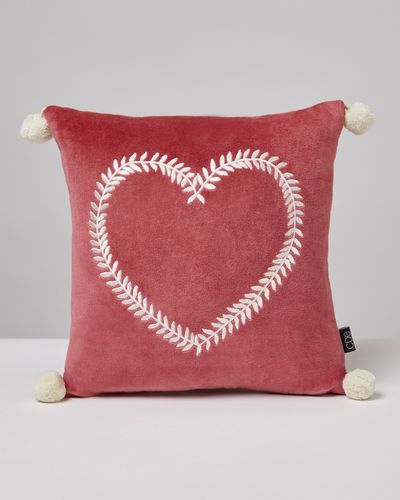 Carolyn Donnelly Eclectic Heart Scatter Cushion