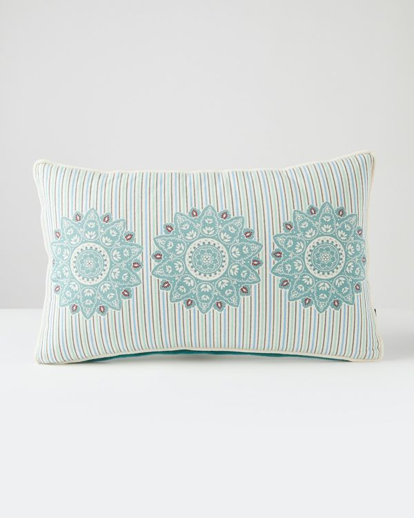 Carolyn Donnelly Eclectic Morocco Rectangular Cushion