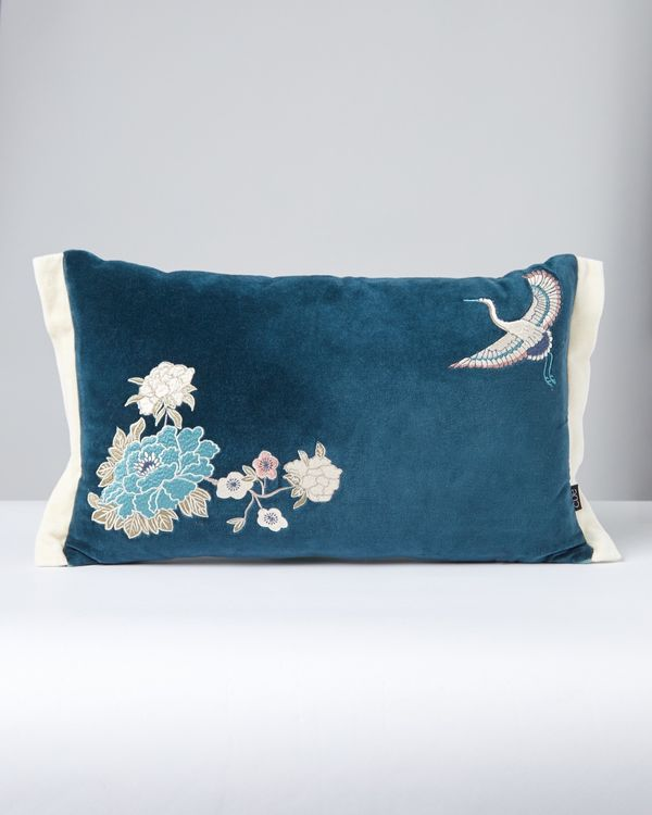 Carolyn Donnelly Eclectic Oriental Boudoir Cushion