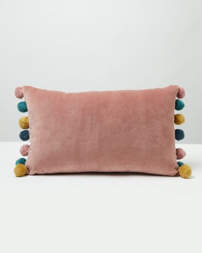 Carolyn Donnelly Eclectic Pom Pom Cushion thumbnail