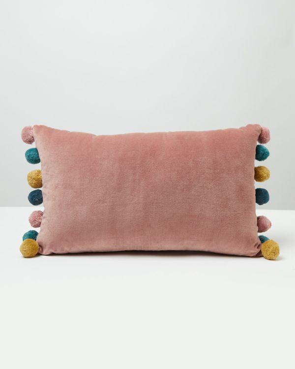 Carolyn Donnelly Eclectic Pom Pom Cushion