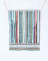 multi Carolyn Donnelly Eclectic Border Hand Towel