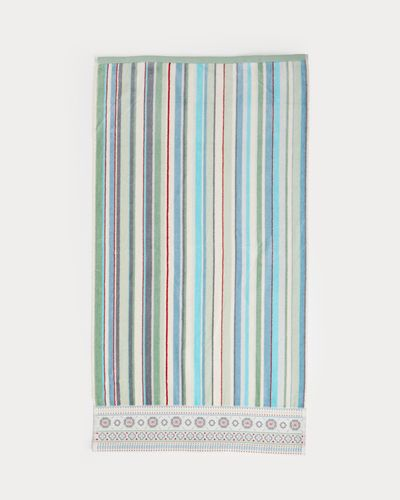 Carolyn Donnelly Eclectic Border Stripe Hand Towel thumbnail