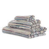 natural Carolyn Donnelly Eclectic Stripe Hand Towel