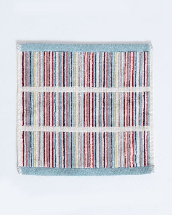 Carolyn Donnelly Eclectic Blocked Stripe Face Cloth