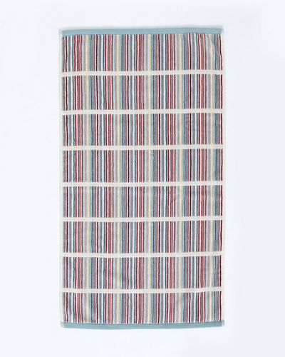 Carolyn Donnelly Eclectic Blocked Stripe Hand Towel