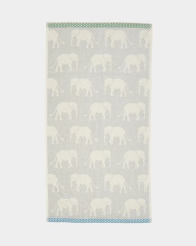 Carolyn Donnelly Eclectic Elephant Towel
