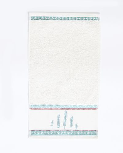 Carolyn Donnelly Eclectic Sprigs Guest Towel