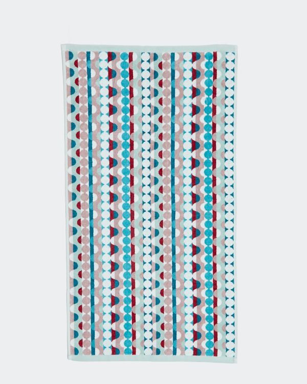 Carolyn Donnelly Eclectic Geo Circle Hand Towel