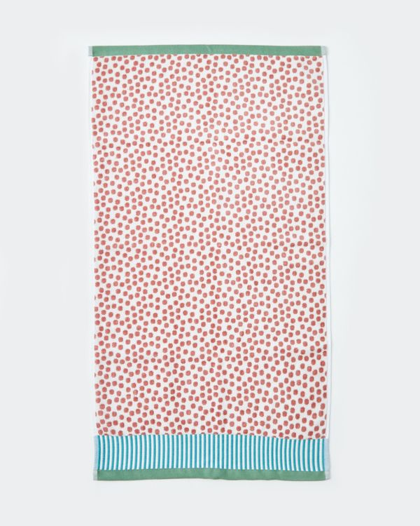 Carolyn Donnelly Eclectic Spot Velour Hand Towel