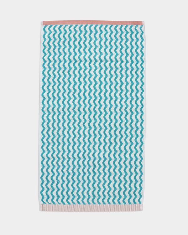 Carolyn Donnelly Eclectic Geo Chevron Hand Towel