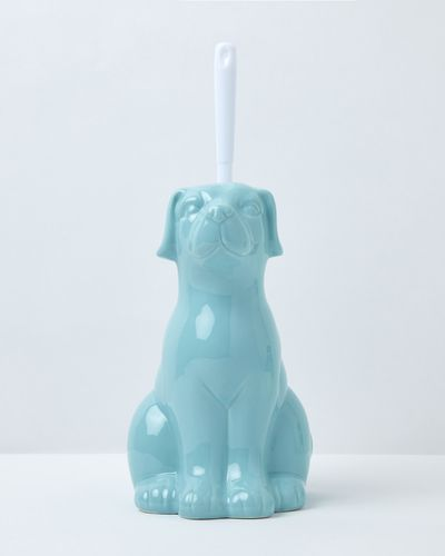 Carolyn Donnelly Eclectic Dog Toilet Brush Holder
