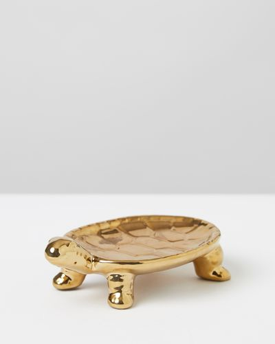 Carolyn Donnelly Eclectic Turtle Trinket Tray