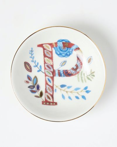 Carolyn Donnelly Eclectic Alphabet Trinket Dish thumbnail