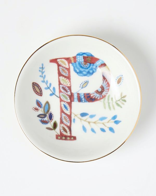 Carolyn Donnelly Eclectic Alphabet Trinket Dish