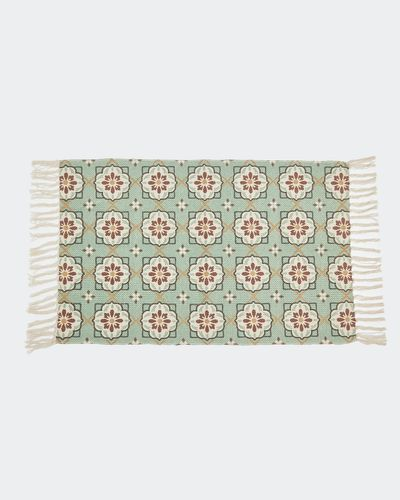 Carolyn Donnelly Eclectic Printed Bath Mat