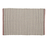grey Carolyn Donnelly Eclectic Woven Bath Mat