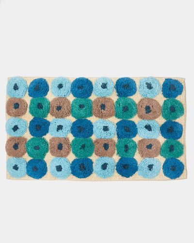 Carolyn Donnelly Eclectic Tufted Spot Bath Mat