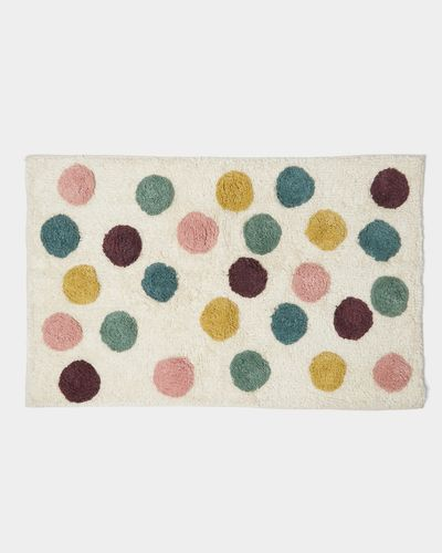 Carolyn Donnelly Eclectic Dotty Tufted Bath Mat thumbnail